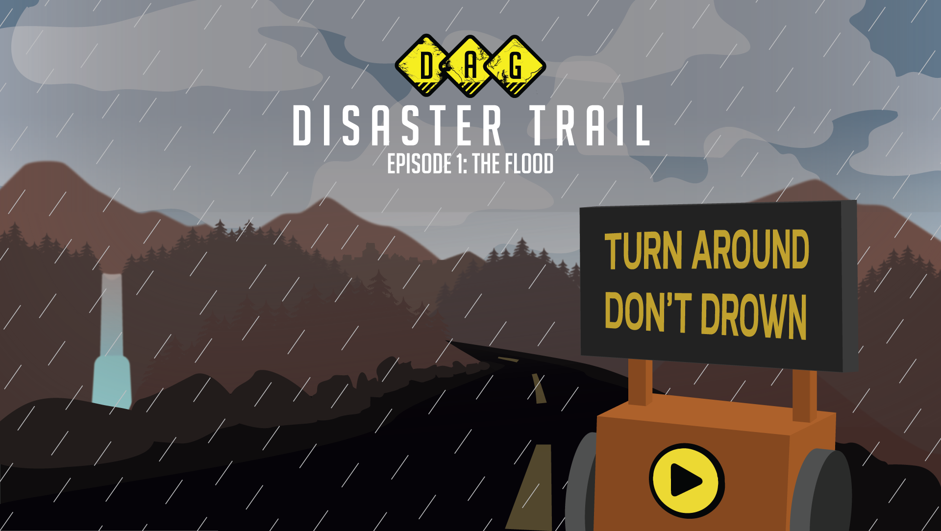 Disaster Trail key art