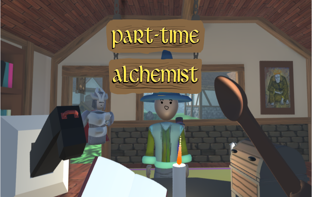 Part-Time Alchemist key art
