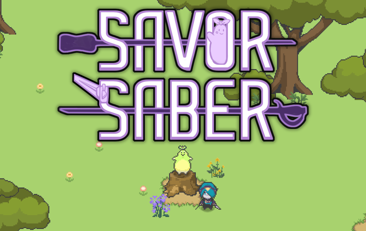 Savor Saber key art