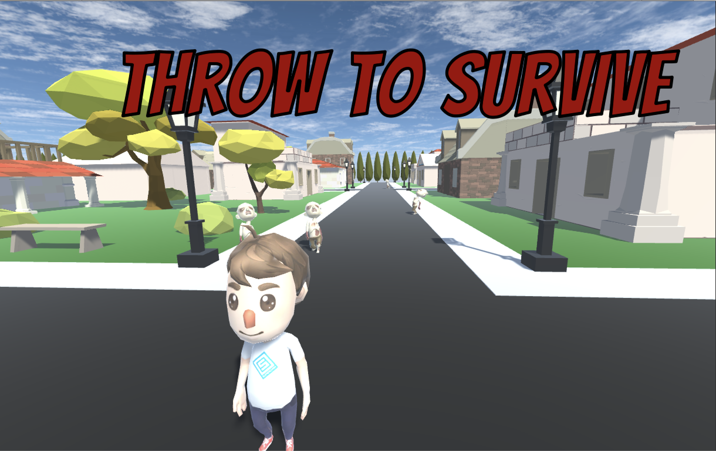 Throw to Survive key art